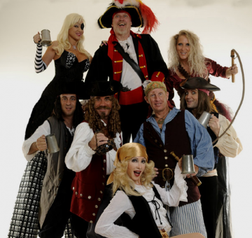 People dressed as pirates.